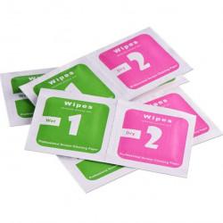 Set servetele mixte umede si uscate, 50 bucati, 4x4 cm