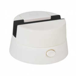 Sistem de rotire a telefonului pentru fotografii panoramice, alb