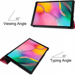 Smart Cover Samsung Galaxy Tab A T510 T515 - 10.1 inch - roz fuchsia