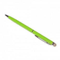 Stylus cu microfibra si pix Verde