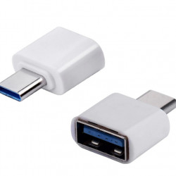 Adaptor OTG, USB tip C to USB 3.0, (Type C to USB), Alb