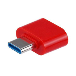 Adaptor OTG, USB tip C to USB 3.0, (Type C to USB), Rosu