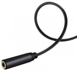 Cablu prelungire audio, Jack 3.5 mm, 4 pini, 200 cm