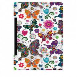 Husa Smart Cover pentru Tableta Lenovo Yoga Pad Pro 13 YT-K606F, model fluture