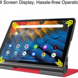 Husa Smart Cover Tableta Lenovo Yoga Tab 5 YT-X705F Smart Tab 10.1 inch - Rosie