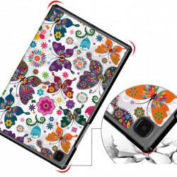 Husa cu fluturi pentru model tableta Samsung Galaxy Tab A7 10.4 (2020) T500 T50