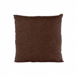 Perna decorativa, 40 x 40 cm, cusuta, material gros, Maro