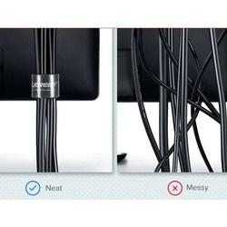 Banda organizare cabluri, marca Ugreen, 100 cm, Neagra