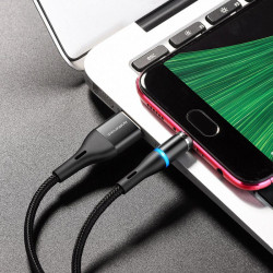 Cablu de incarcare magnetic USB to Micro USB