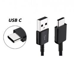 Cablu de incarcare USB to USB-C, EO-IG955, 100 cm, Negru