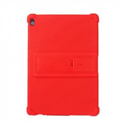 Husa compatibila cu tableta Lenovo Tab M10 TB-X505/TB-X605 10.1 TPU cu stand - Rosu