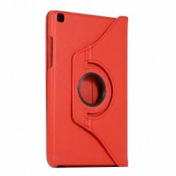 Husa rotativa pentru tableta Samsung Galaxy Tab A7 10.4 T500 T505 - rosu