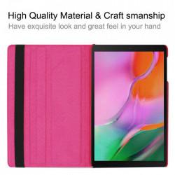 Husa rotativa Samsung Galaxy Tab A Roz