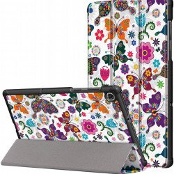 Husa Smart Cover pentru tableta Lenovo Tab M10 TB-X306F/TB-X306X 10.1 fluture