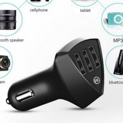 Incarcator auto 5v 4.2 A, 3 mufe USB
