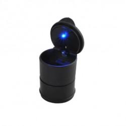 Scrumiera cu capac si cu lumina LED, cu suport ajustabil.
