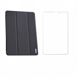 Set husa si folie de protectie pentru tableta Huawei MatePad T8