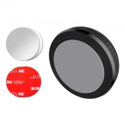 Suport auto magnetic Borofone, autoadeziv - Negru