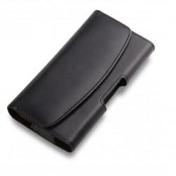 Toc pentru telefon, cu prindere la curea, negru, 4.5 inch
