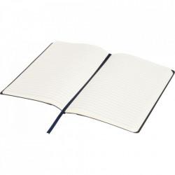 Agenda liniata dictando A5, 80 file, coperti din piele ecologica, Avery Memo, Bleomarin