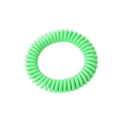Bratara naturala anti insecte, 300 ore, elastica, verde