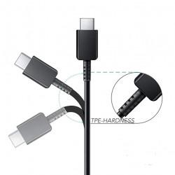 Cablu de incarcare USB to USB tip C, EO-IG955,  100 cm, Negru