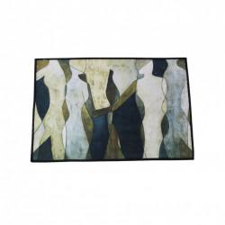 Covoras de Bucatarie, anti alunecare, cu margini sufilate, Siluet, 40 x 60 cm