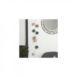 Ghirlanda cu lumini LED G6, Fantasy, 165 x 6 cm, culoare mixta