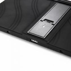 """Husa pentru tableta Samsung Galaxy Tab S7 11"""" 2020 T870 T875 TPU cu stand - Negru"""