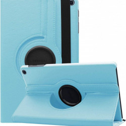 Husa rotativa pentru tableta Samsung Galaxy Tab S6 Lite 10.4 inch - bleu