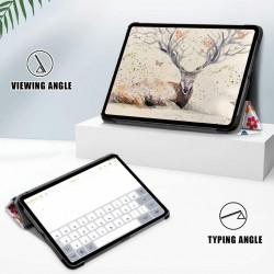 "Husa Smart Cover compatibila cu tableta Apple iPad 8 (2020), 10.2"" - Model Fluture"