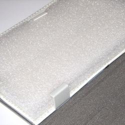 Husa tip carte universala pentru tableta de 7 inch - Alba