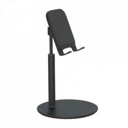 Suport de birou pentru telefon, brat telescopic, unghi reglabil, negru