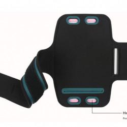 Suport tip Armband pentru iPhone 7 si 8 Plus de 5.5 inch, prindere de mana, negru