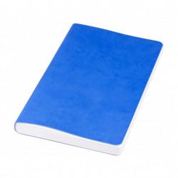 Agenda Rollable liniata dictando, A5, 120 file, coperti piele Ecologica, Albastra