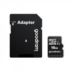 Card  16GB, Clasa 10, Micro SD plus adaptor SD