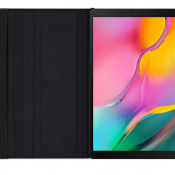 Husa rotativa pentru tableta Samsung Galaxy Tab S6 Lite 10.4 inch - neagra