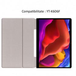 Husa Smart Cover pentru Tableta Lenovo Yoga Pad Pro 13 YT-K606F, neagra
