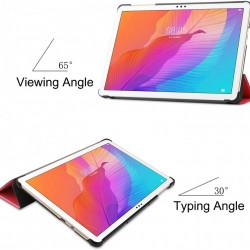 Husa Smart Cover Tableta Huawei MatePad T10 9.7 inch (2020) rosie
