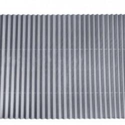 Parasolar auto retractabil, pentru parbriz sau luneta, 150x65 cm, Gri