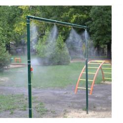 Sistem pulverizare apa terasa umbrela