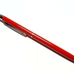 Stylus de precizie cu pix - corp metalic - Rosu
