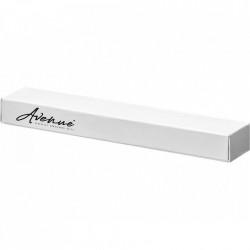 Stylus Touch pen Avenue White, Metalic, cu pix incorporat, Alb