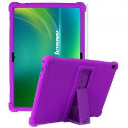 Husa compatibila cu tableta Lenovo Tab M10 TB-X505/TB-X605 10.1 TPU cu stand - Mov