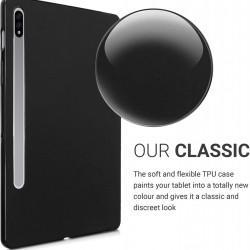 Husa compatibila cu tableta Samsung Galaxy Tab S7 Plus 12.4 SM-T970 SM-T975 SM-T976 TPU, subtire, Neagra