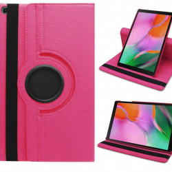 Husa rotativa Samsung Galaxy Tab A , 10.1 Roz