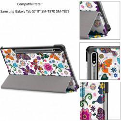 """Husa cu modele pentru copii pentru tableta Samsung Galaxy Tab S7 11"""" 2020"""