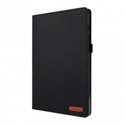 Husa Tableta Samsung Galaxy Tab A7 10.4 (2020) T500 T505 material textil negru
