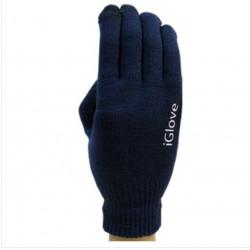 Manusi de iarna pentru touch screen, iGlove, bleumarin