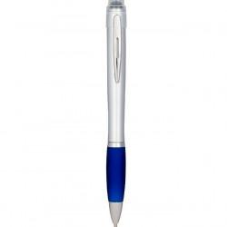 Stylus Pen cu pix si lumina, albastru, Nash Glow UP